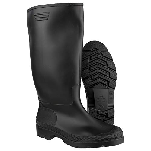Black Mucker Rubber Wellingtons Mens Ladies Boys Wellies Snow Boots Shoes New