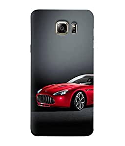 Digiarts Designer Back Case Cover for Samsung Galaxy S6 Edge+, Samsung Galaxy S6 Edge Plus, Samsung Galaxy S6 Edge+ G928G, Samsung Galaxy S6 Edge+ G928F G928T G928A G928I (Vehicle Dream Vacation Trip Ride)