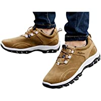 Zapatos de Senderismo para Hombres Antideslizantes Ligeras Zapatillas de Escalada Calzado de Trekking para Correr Alpinismo Gimnasio Deportes al Aire Libre