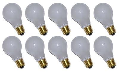 10 x Glühbirne Glühlampe AGL 7W E27 MATT stoßfest