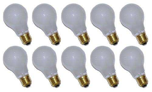 10 x Glühbirne Glühlampe AGL 15W E27 MATT stoßfest - 15w Glühlampe