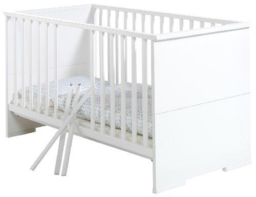 Schardt 048605202 Kombi-Kinderbett Maximo, 70 x 140 cm, weiß