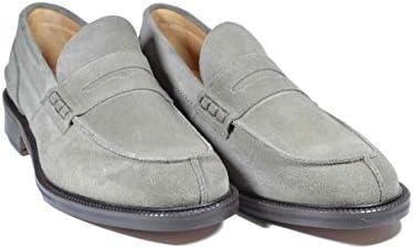 Saxone Of Scotland - Mocasines de Piel para hombre gris gris