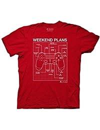 Playstation Weekend Plans Controller T-Shirt