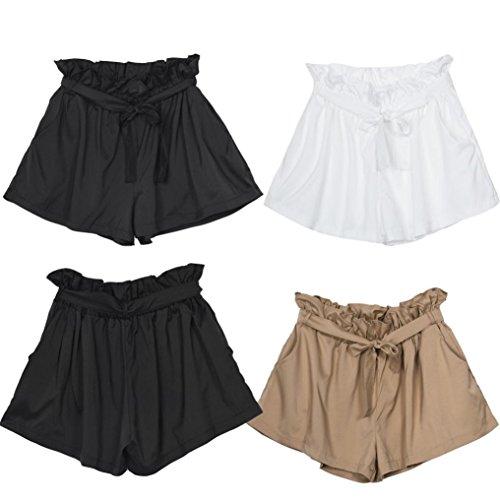 Morwind Women Shorts Summer Women Casual Design High Waist Loose Fashionable Shorts Female With Belt