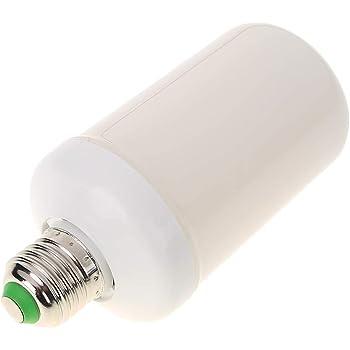 LED Flame Lamps, Domybest Efecto de Llama Bombillas de Luz, Parpadeante Barra de Emulación