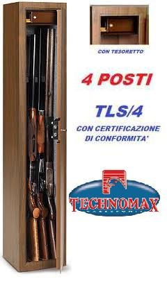 TECHNOMAX TLS/4 - ARMARIO PARA ARMAS (4 SITIOS  CON BALDA)