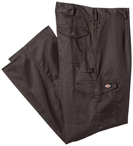 Dickies WD884 - Pantalones de Trabajo Para Hombre, Gris (Grey), 32R (32/32)