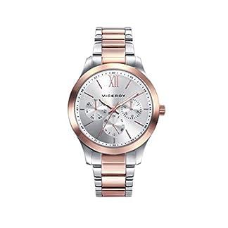 Viceroy 401070-03 – Reloj Analógico para Mujer, Acero Bicolor