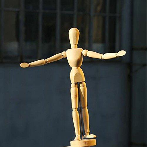 Rokoo Skizzieren Neue Künstler Bewegliche Gliedmaßen Männliche Holzfigur Modell Puppe Spielzeug Skizze Schaufensterpuppe Puppe
