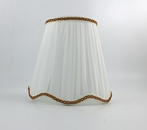 Juesaed Dia 17Cm Cool White Wall Lampenschirme, kleine Lampenschirme DIY, E27 / E14