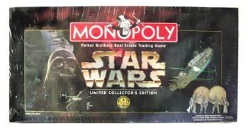 Parker Bros Board Game 40786 - Monopoly Star Wars
