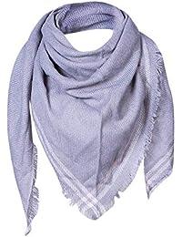 Keepwin Femme Cachemire Plaid Wool Classique Britannique écharpe Triangle  écossais Chaud Automne Hiver Châle eb3577af2b1