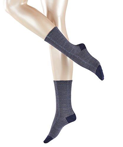 FALKE Damen Socken Galles, Mehrfarbig (Bluecollar 6733), 35/38