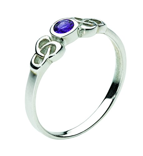 heritage-womens-sterling-silver-and-amethyst-celtic-round-stone-ring