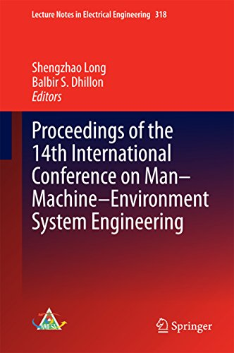 Proceedings of the 14th International Conference on Man-Machine-Environment System Engineering (Lecture Notes in Electrical Engineering)