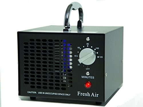 Pro-ozon-generator (Kommerzieller Ozonisator 3500mg 03, industrieller Ozon Luftreiniger, schwarz, Luftverbesserer, Luftsterilisator Ozone Generator)