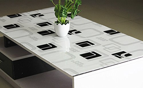 Preisvergleich Produktbild Weiche Glas Ruinian Crystal Pad Undurchlässige Isolierung Imprägnierung Öl Tischmatten Couchtisch Stoff ( größe : 70*120cm )