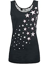 R.E.D. by EMP Stars Rising Top Mujer Negro