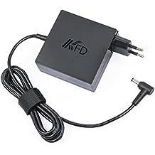 KFD 65W 19V Adaptador Cargador para Asus R503U R510C R510CA R510L S300CA S400CA X45A ADP-65AW A ADP-65BW B ADP-65DW B EXA0703YH AD887320 TP550LA R554L A52F A53E A53S A54C A55A F551M F555LA F555UA Q301L Q301LA X75A X53E X53U X54C X55A X55C X55L X550L X550LB X550ZA X551 X551C X551CA X551M X551MA X555L X751MA D550CA D550M D550MA F502CA X552L 19V 3.42A