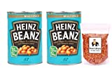 Heinz Baked Beanz are baked in tomato sauce comes in size of 415g and in pack of 2.