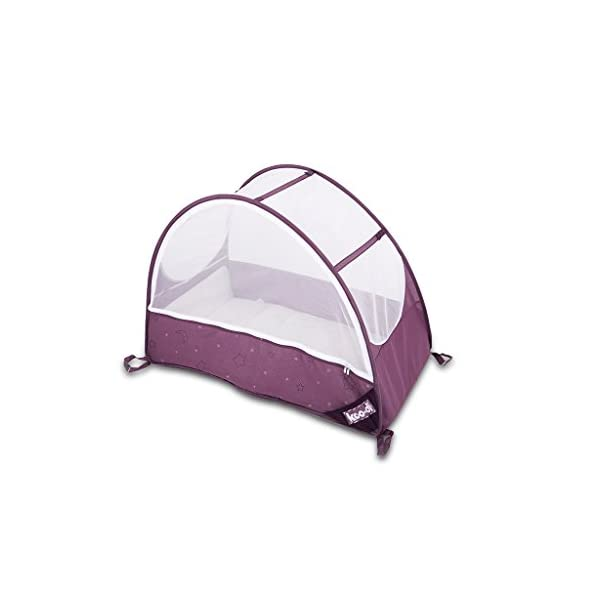 Koo-di KD111/36 Pop Up Bubble Cot  A comfortable cot ideal for use at home and on holidays or weekends away Made from polycot ton Ideal from 6-18 months and when outgrown, makes an ideal playhouse for little ones 1