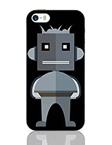 PosterGuy iPhone 5 / 5S Case Cover - Light Gray Robot Character In Illustarion Light Gray, Stylish Robot, Standing Robot, Strongman Robot, Cute Robot, Robot Vector, Color ,Robot,Shiny,Standing.