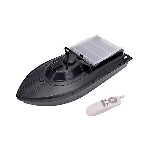 Admier GPS-örtlich festgelegter Punkt Fischen-Köder-Boot 1.5kg, das wasserdichte Gras-Abfall 300m drahtlose Fernsteuerungsbootsgeschenke für Männer 10AH lädt - Boot-männer Wasserdichte