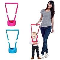 W. auxiliar de aire de pie para bebé Aprendizaje Walk seguridad Riendas Harness Walker Alas (Baby Blue)
