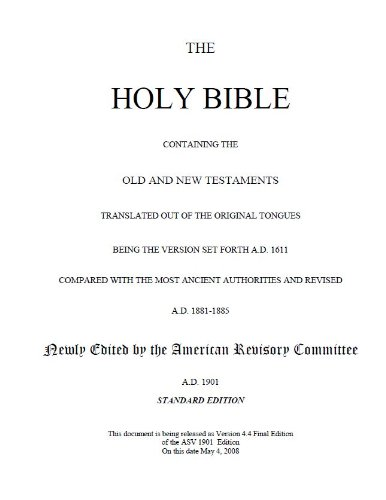 the-holy-bible-american-standard-version-1901-english-edition
