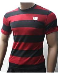 FC Augsburg FCA T-Shirt Schwarz-Rot Gr. S Bundesliga Fan-Artikel 29896