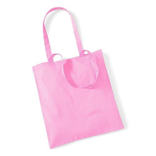 Westford MillBorsa in cotone con lunghi manici Classic Pink