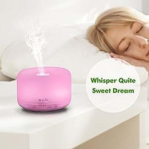 OxyLED 500ml Aromathérapie Huile essentielle diffuseur humidificateur brume Cool