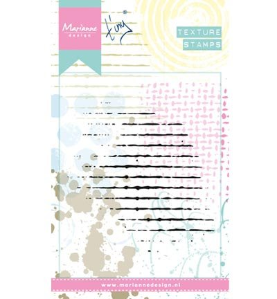 Marianne Design Texture Stempel, Gitter, für die Erstellung von bunten Papier Handwerk Hintergrund Grafiken