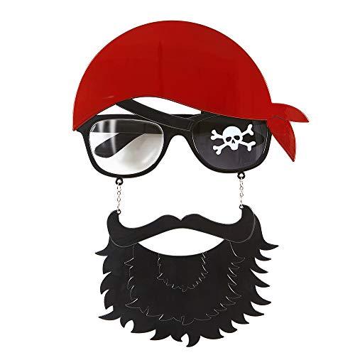 Widmann - Brille Pirat mit Bart