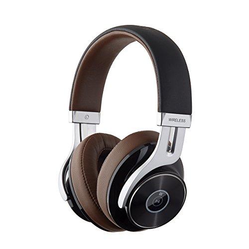 Edifier W855BT Wired Und Wireless Dj Kopfhörer (Braun) MEHRWEG - Wireless Mic Wired-oder