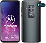 Motorola One Zoom, Smartphone, Quad Camera 48MP, 128GB, Alexa Hands-Free integrato, Batteria 4000 mAh TurboCha