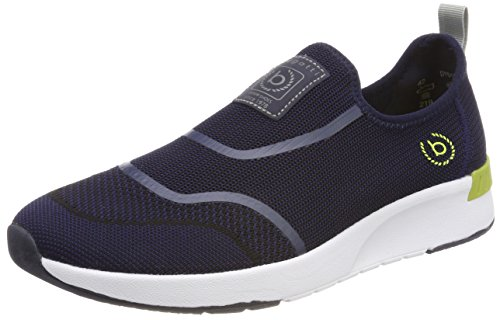 bugatti Herren DY01626 Slip On Sneaker, Blau, 42 EU