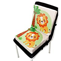 Funihut Baby Highchair Seat Cushion Pad Dining Chair Booster Cushion,Baby Printed Linen Children
