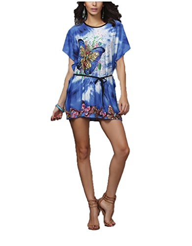 Vlunt rétro Imprimé Floral bohème Totem Slim Mini robe de soirée courte F