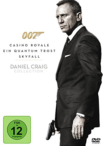 James Bond 007 - Casino Royale / Ein Quantum Trost / Skyfall [3 DVDs]