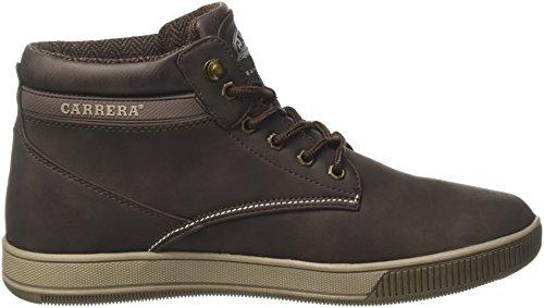 Carrera Ronnie Nbk, Sneaker a Collo Alto Uomo Marrone (Coffee)