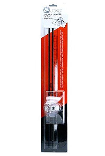 Jakar Mount Cutter Kit Acrylic Ruler -