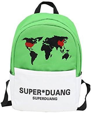 Sac à dos préscolaire Sac à dos de toile toile toile de mode étudiant de sac à dos d'ordinateur portable de loisirs de sac à dos de voyage B07KF7SJ7T | Un Prix Raisonnable  208c1d
