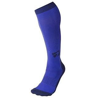 Acel Designer Kompression Socken Graduated für Leistung und Erholung, Unisex, blau