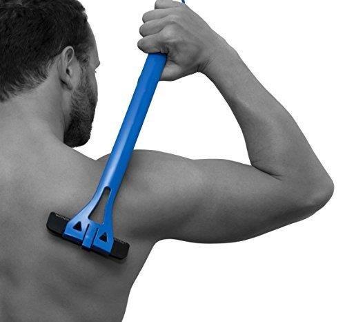 BAKBLADE 1.0 Rücken- und Körperrasierer mit patentierter Klingentechnologie speziell für Körperhaare