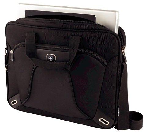 """41hWn8QIHiL - Wenger 600644 Administrator - Mochila con Compartimento Acolchado para portátiles (15.4"""") Color Negro"""