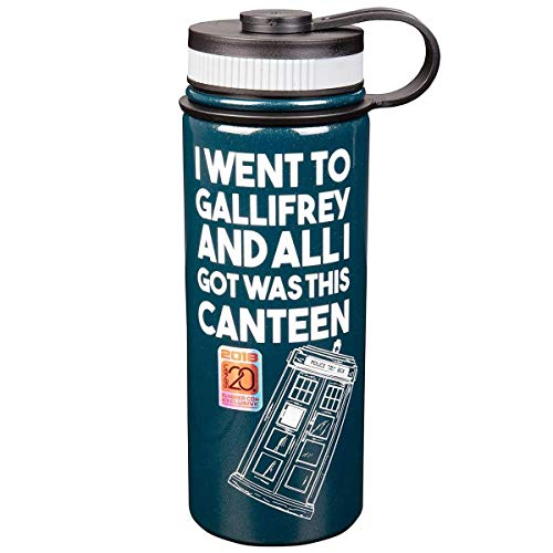 - Doctor Who Tardis I Went to Gallifrey... 18oz Stainless Steel Water Bottle