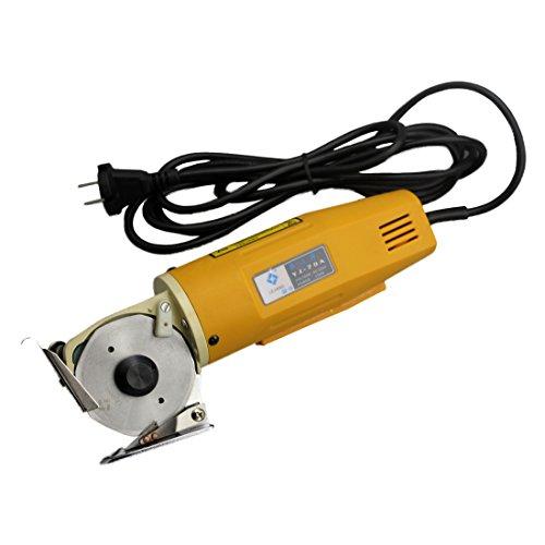 CGOLDENWALL YJ-70A Verbesserte Elektrische Stoff Schere Runde Messer Schneidemaschine Tuch Drehmesserschere Achtkantmesser 70m 220 V