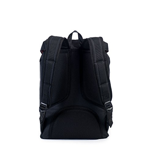 Sac à dos Herschel Little America Mid-Volume Routes/Black Noir